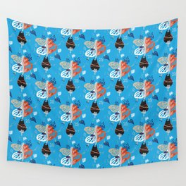 Blues Wall Tapestry