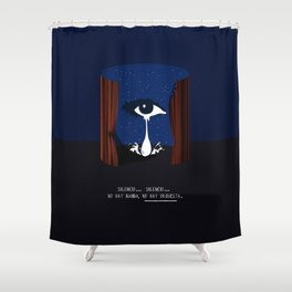 mulholland drive Shower Curtain