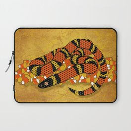 Mexican Candy Corn Snake Laptop Sleeve