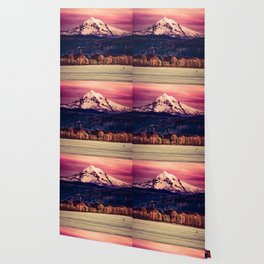 Mt Hood on Columbia River Wallpaper