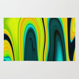 Abstract Fluid 17 Rug