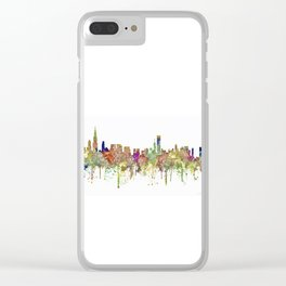 Chicago,Ilinois Skyline SG -Faded Glory Clear iPhone Case