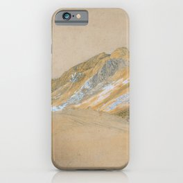 Samuel Palmer - Mountains By The Traveller's Rest Near Dolgelly - Digital Remastered Edition iPhone Case