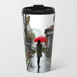 Ukraine Rain Travel Mug