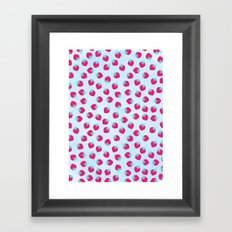 Strawberry spring Framed Art Print