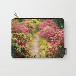 Footpath with azaleas Carry-All Pouch