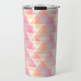 Triangle Reflections Travel Mug