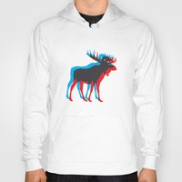 moose Hoodies featuring Moose by BMaw