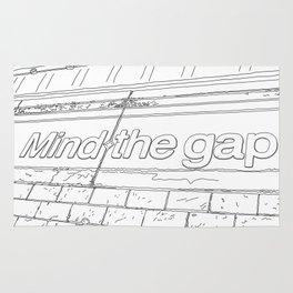 Mind the Gap - Line Art Rug