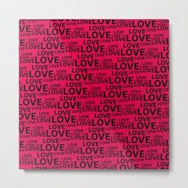 Love background  #society6 #decor #buyart #artprint Metal Print