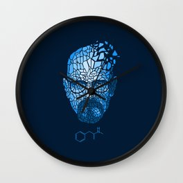 Crystal Heisenberg Wall Clock