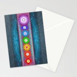 The Seven Chakras VI - Series VI Stationery Cards