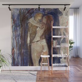 Death and Life by Edvard Munch Wall Mural