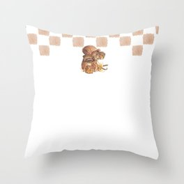 French Bakery - Lucie Schrimpf Throw Pillow
