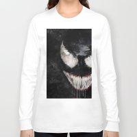 venom Long Sleeve T-shirts featuring Venom by Scofield Designs