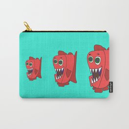 Hungry Piranha Carry-All Pouch