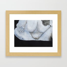 Just Relaxin' Framed Art Print