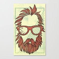 Beard and Shades Canvas Print