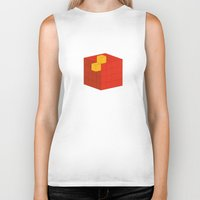 fez Biker Tanks featuring PAUSE – A Fez by PAUSE