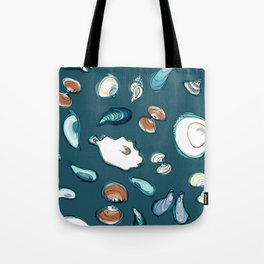 Mollusks Tote Bag