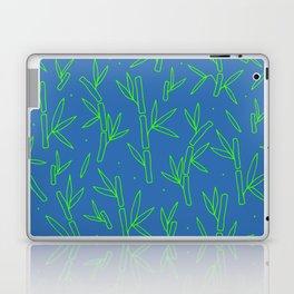 Green Bamboo Pattern Laptop & iPad Skin