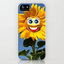 Sonnenblumenfrau und Sonnenblumenmann iPhone Case