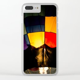 Fire Balloon Clear iPhone Case