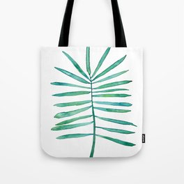 Long Palm frond Tote Bag