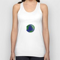 bubble Tank Tops featuring Bubble by barmalisiRTB