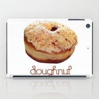 doughnut iPad Cases featuring Doughnut by lumvina