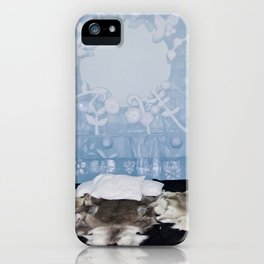 Ice hotell in the north of Sweden iPhone Case