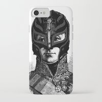 wrestling iPhone & iPod Cases featuring WRESTLING MASK 6 by DIVIDUS