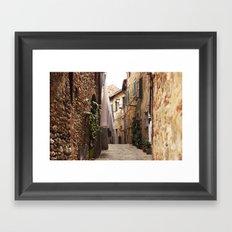 Lucignano Framed Art Print