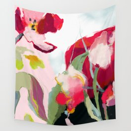 abstract bloom Wall Tapestry