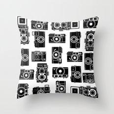 Yashica bundle Camera Throw Pillow