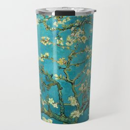 Vincent Van Gogh Blossoming Almond Tree Travel Mug