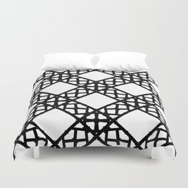 LETTERNS - K - Copperplate Duvet Cover