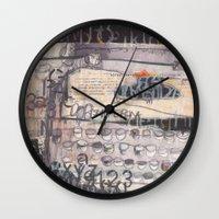 typewriter Wall Clocks featuring Typewriter!  by Tracey Shaw