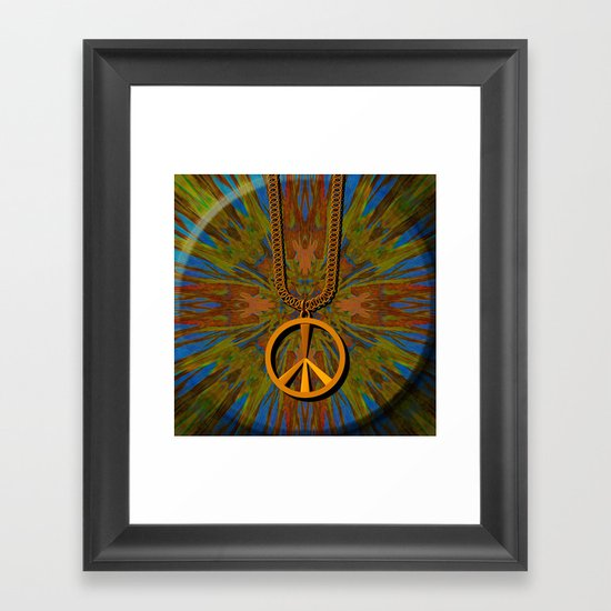 Child of the Sixties Framed Art Print