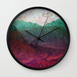 Across the Poisoned Glen Wall Clock