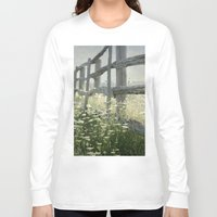 rustic Long Sleeve T-shirts featuring Rustic Fence by Pure Nature Photos