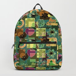 Christmas patterns 6 Backpack