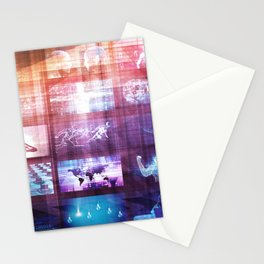 Disruptive Technology and Innovation in New Market Stationery Cards