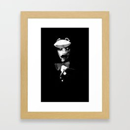 Zombie in a Penguin Suit Framed Art Print