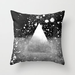 Triangle Composition IV Throw Pillow