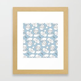 Gojo Pattern Framed Art Print