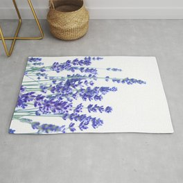 Fresh Lavender #3 #decor #art #society6 Rug