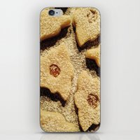 cookies iPhone & iPod Skins featuring Cookies by Samantha