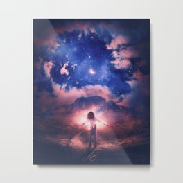 INTERSTELLAR CONNECTION Metal Print