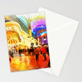 Fremont Street Experience Las Vegas Stationery Cards